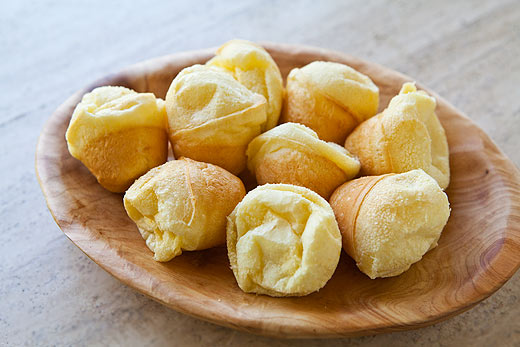 Pão de queijo = saudade